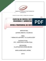 normas de auditoría y su clasificación.pdf