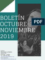 Boletín octubre noviembre 2019