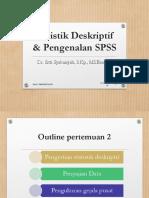 DrSS Biostatistik Pertemuan 2. Statistik Deskriptif.pptx