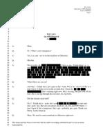 Transcript of Dec. 5 Mission Lockdown 911 Call