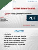 La Grande Distribution de DANONE