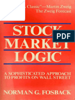 Norman G. Fosback - Stock Market Logic_ A Sophisticated Approach to Profits on Wall Street-Dearborn Financial Publishing, Inc. (1991)