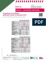 Info Trafic Axe x _ Orleans-Vierzon-bourges Du 12-12-2019