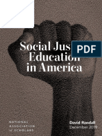 Social Justice Report Web, National Association of Scholars