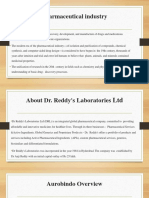 Capital Structure of Dr Reddy's Laboratories