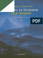 J. R. R. Tolkien - La caída de Númenor (Historia de la Tierra Media 6)