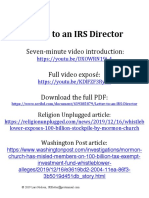 Letter to an IRS Director