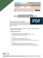 Explication linéaire et Grammaire Eduscol