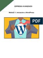 Módulo 1. Iniciación a Wordpress
