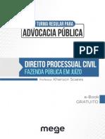 Processual Civil Fazenda Publica