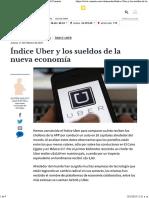 Indice Uber y Los Sueldos de La Nueva Ec