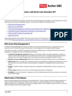RSA Archer Risk Management 4 With Monte Carlo Simulation SP1 Release Notes (1)