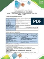 Guía de Actividades y Rúbrica de Evaluación - Paso 2 - Presentación en Power Point