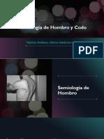 Semiología de Hombro y Codo INCOMPLETO