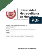 03 - Libro de Apoyo - Geometria Analitica (Septiembre 2019)