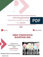 PLF 2020 Présentation BPCE 10 12 2019