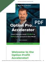Ebook Option Profit Accelerator - Weekly Money Maker.pdf