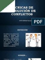 Técnicas de Resolución de Conflictos (5)