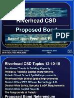 Riverhead Central School District revised bond proposal