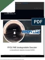 RYDLYME desincrustante - Dario Moreta  Asociados