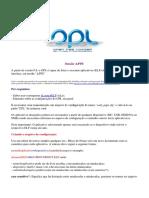 Tutorial Apps no OPL