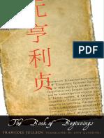 François Jullien, Jody Gladding - The Book of Beginnings-Yale University Press (2015)
