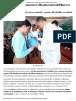 06-08-2019 Héctor Astudillo conmemora 160 aniversario del Registro Civil en Guerrero.