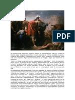 Alejandro Magno y Diogenes.