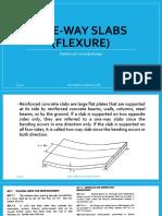 One-way slab (flexure)