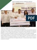 27-08-2019 El gobernador Héctor Astudillo entregó apoyos a Normales Públicas.