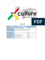 X Culture Report