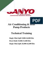 Mini Split Training Manual 2010 Version 4-1