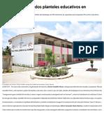 28-08-2019 Astudillo Entrega Dos Planteles Educativos en Guerrero.