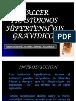 Taller de Trastornos Hipertensivos Del Embarazo