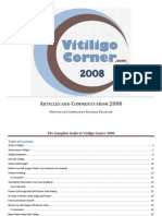 The Complete Guide to Vitiligo Corner 2008