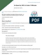 Site Speed Wordpress