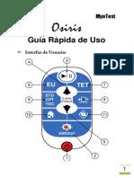 Manual Myotest Osiris - Guia Rapida v1.2