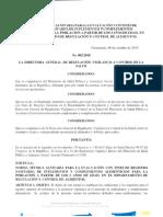Normativa Técnica 002-2018 Suplementos Dietéticos DRCA Guatemala