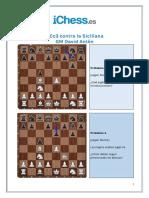 2.Cc3 Contra La Siciliana - Puzzles