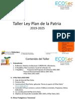 Taller Ley Plan Patria 2025 consolidado2.pptx