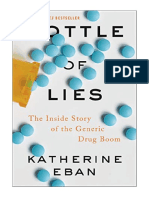 [2019] Bottle of Lies by Katherine Eban | The Inside Story of the Generic Drug Boom | Ecco