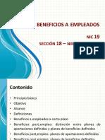 NIC 19_Beneficios a Empleados