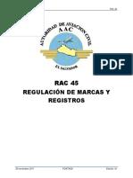 RAC 45 ed. 01