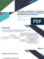 AVALIAÇÃO DE MÉTODOS DE ESTIMATIVA DE CAPACIDADE DE.pptx