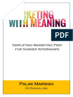 Marketing With Meaning_Palak Marwah