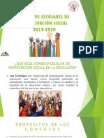 Presentación Consejos Escolares de Participacion