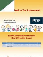 Pediatric Assessment Barb Gray