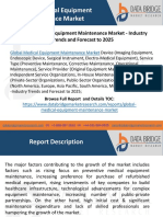 Global Medical Equipment Maintenance Market - Industry Trends and Forecast to 2025