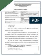 Guía de aprendizaje 002-SERVICIO AL CLIENTE