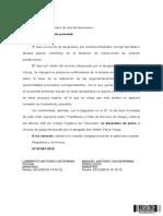 33881-2019 Desestima Queja